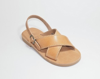 Kids Genuine Leather Sandals