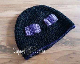 Crochet Enderman Hat