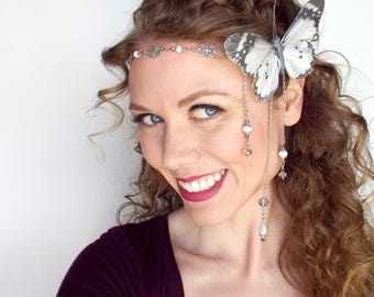 Butterfly Fairy Wedding Circlet
