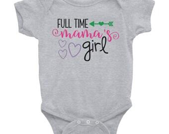 Full time mama's girl Infant Bodysuit