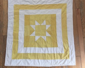 Beautiful Natural Hand Dyed Quilt