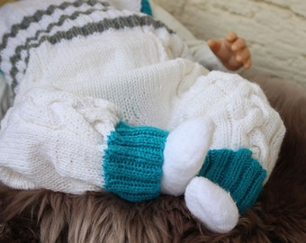 Baby Overall Knitting Pattern