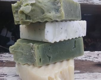 Pick Any 4 Vegan Soap Bars| You pick 4 bars of handmade soap| Organic Soap| Wholesale Soap| Natural Soap| Soap Set