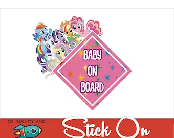 My Little Pony Baby on Board