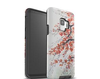 Galaxy S8 Plus Case, Galaxy S9 Case, Samsung Galaxy Cases, Tree Blossoms, Unique Art, Galaxy S7 Case, Galaxy Note 8 Case, Shockproof Case