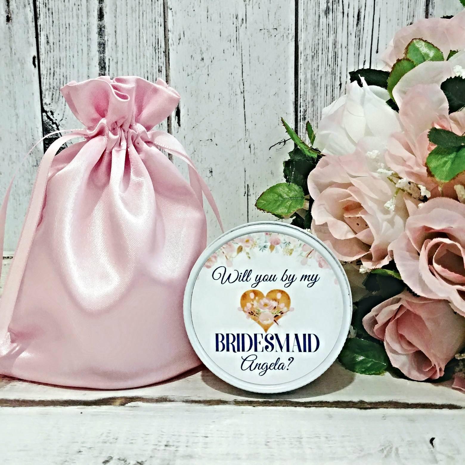 Bridesmaid Proposal Candles - Asking Bridesmaids - Gifts For ...