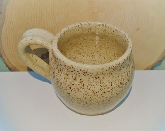 Pottery ceramic mug