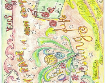 Soul  Energy --  My  Life  in  Pictures..  //  soul energy drawing , love , life,  cartoon , illustration ,