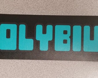 Polybius (The Urban Legend Game) marquee sticker. (Buy any 3 of my stickers, GET ONE FREE!)