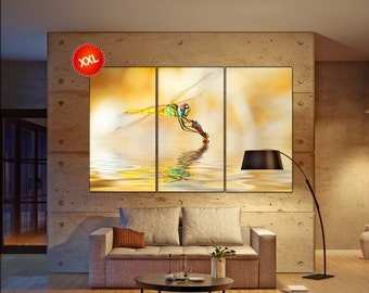 dragonfly  canvas wall art dragonfly wall decoration dragonfly canvas wall art art dragonfly large canvas wall art  wall decor