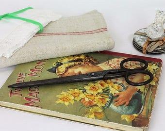 "Vintage Whiteley Scissors/10"" Scissors/Haberdashery Display/Vintage Textile Scissors(Ref1979V)"