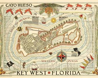 1940 Key West Florida Cayo Hueso