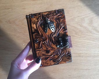 Leather Journal, Steampunk Journal, Travel Journal, Diary, Leather Notebook