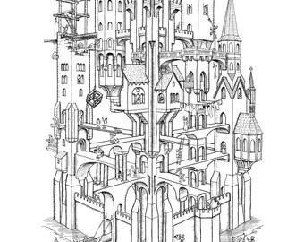 Escher Castle