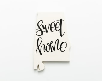 AL | Sweet Home Wood Wall Art