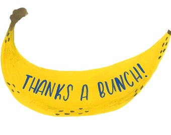 Thanks A Bunch! Blank Notecard - Greeting card