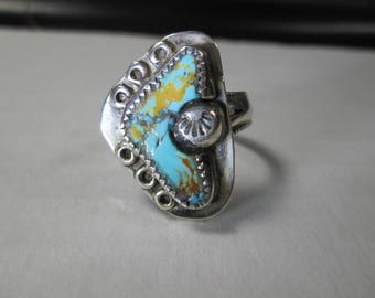 ring, size 8, turquoise from Nevada