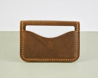 Leather Card Holder, Leather Card Wallet, Minimalist Card Wallet, Leather Business Card Holder, Front Pocket Wallet