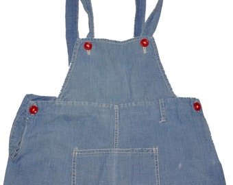 1950s Boys Denim Overalls Vintage Retro Baby
