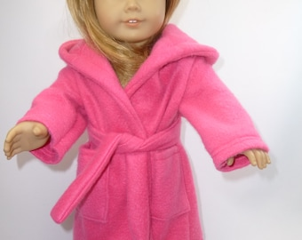 Snuggly robe for your American girl doll