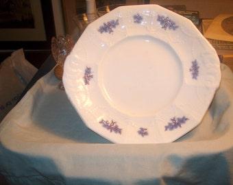 Antique Vintage Chelsea Plate, Platter, Underplate