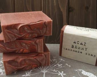 Acai Berry Cold Processed Handmade Soap