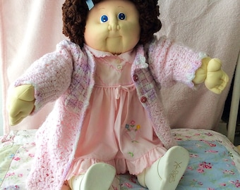 1985 Saphire Edition Soft Sculpture Cabbage Patch Kid