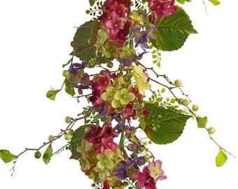 """48"""" Hydrangea Garland"""