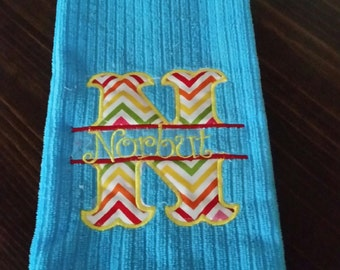 Personalized dish towel