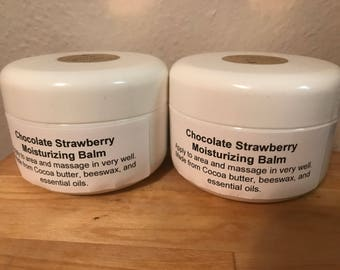 Chocolate Strawberry Moisturizing Balm