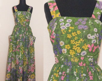 late 1960's Miss Elliette maxi dress