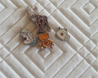 Girls Floating charms for locket