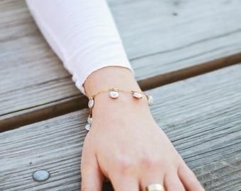 Gigi Bracelet, Gold