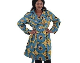 African Print Jacket 2X