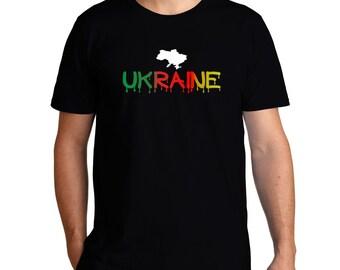 Dripping Ukraine T-Shirt