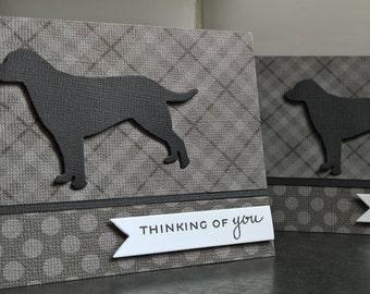 Dog Sympathy Card, Loss of Pet Greeting Card, Dog Condolences