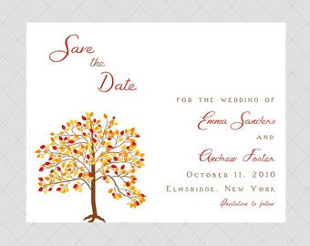 Fall Save the Dates
