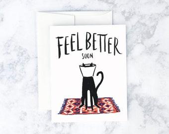 Cat Cone Greeting Card