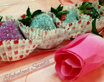 Valentine Chocolate Covered Strawberries, Valentines Day, *Local Pick up Only