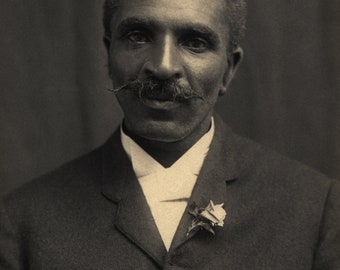 George Washington Carver c.1910; Custom Printed Photograph