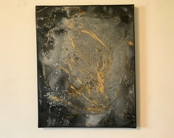 Art Original Painting 'Opulence IV'