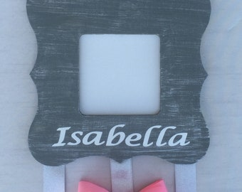 Personalized Hair Bow Holder