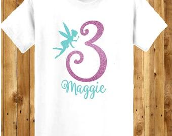 Fairy Birthday Shirt