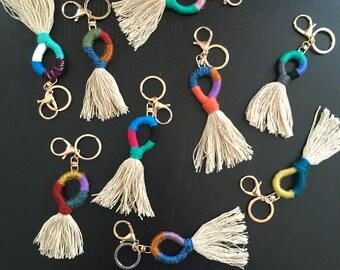 Handmade Keyrings | Handwoven Keychains | Bagrings