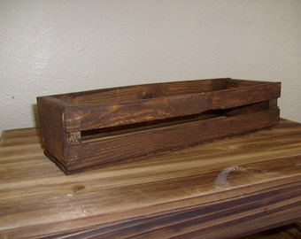 Rustic Wooden Crate, Rustic Crate, Decoratvie Crate, Rustic Wood Crate, Mediuml Wood Crate, Crate, Decorative Crate, Shabby Chic Crate
