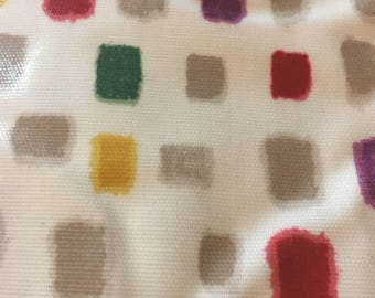Modern Vinyl Tablecloth, Colourful Tablecloth, Oilcloth Tablecloth,  Colourful Oilcloth, Matt Coated Pvc, Oilcloth Fabric, Modern Oilcloth
