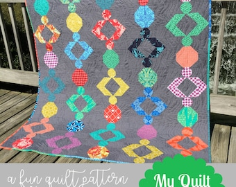 Boho Beads Quilt Pattern