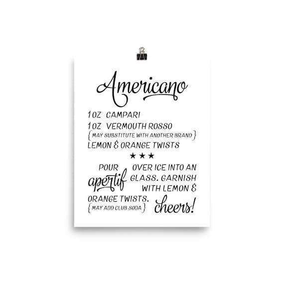 Americano | Art Print