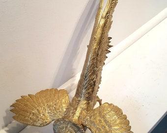 Lovely Brass Pheasant