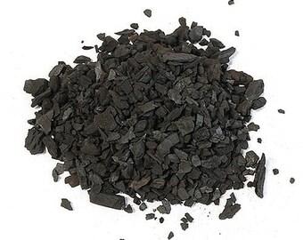 Charcoal. Med. Grade. 1/4 Cubic Ft. Bag. Horticulture Grade Hardwood Charcoal.